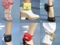 Lindsay's ankle bracelet
