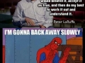 Spidey knows