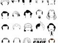 Nicolas Cage Hair