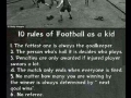 10 rules of football
