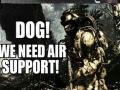 Dog, we need help!