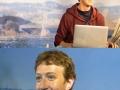 Zuckerberg at Tussauds