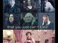 There are villains..