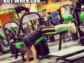 Gyms be like..