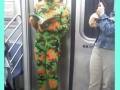 Crazy stuff on the subway
