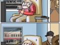 Grandpa saves the city