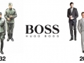 Hugo Boss then & now