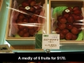 Expensive fruits in Japan
