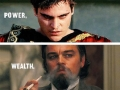 All villains have a purpose