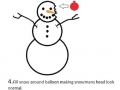 Snowman prank