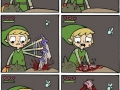 Link gets a heart container