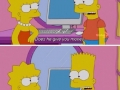 Lisa takes what she needs