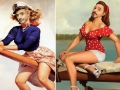 RDJ as pinup girls