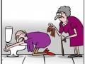 Granny got drunk again!