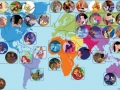 Disney map of the world