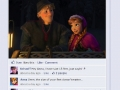 Frozen on Facebook