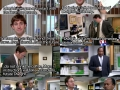 Jim pranking Dwight