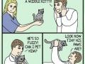Omg! A kitty!