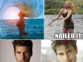People who nailed it