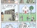 Bigger houses..