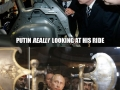 Putin looking at things