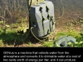 Drinking water from air