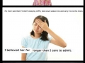 How parents scared kids