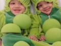 Twins on Halloween