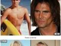 Teen stars then & now