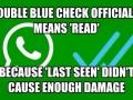 Whatsapp b*tches!