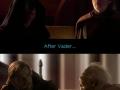 Vader balanced the Force