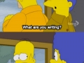 Homer is amazing