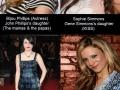 Rock stars' daughters