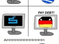 Greeceball cannot clear debts