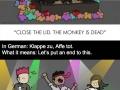 German proverbs in cartoons