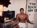 Teen Dwayne Johnson