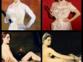 Famous art works recreated