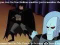 Style conscious Batman
