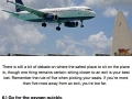Travelling on planes info