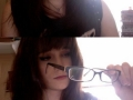The anime glasses thing