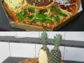 Unusual pizzas