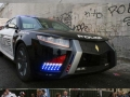 Police cars around the world