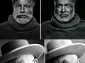 Famous portraits recreated