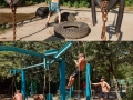Outdoor gym in Ukraine