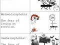 Strange phobias