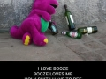 I love booze..