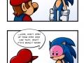 Sonic's eye infection