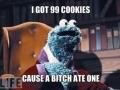 I got 99 cookies