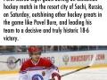 Vladimir Putin scores
