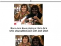 Jack black playing blackjack